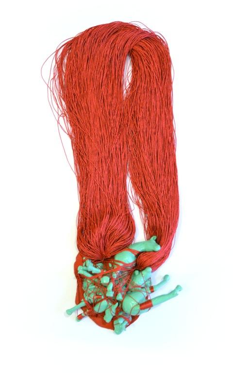 Izabella Petrut - blood on the ground neckpiece