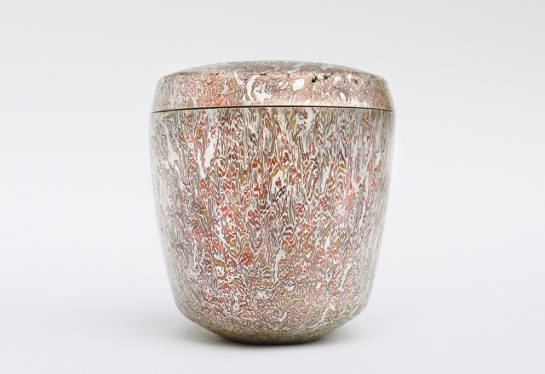 Patrick Davison, Jar lid, mixed metal