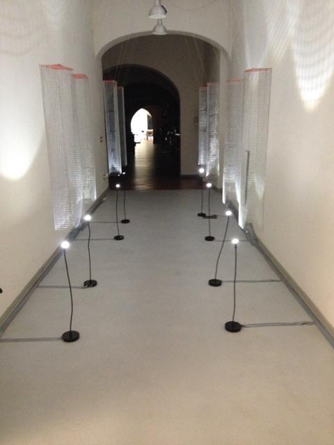 Brunella Alfinito, corridor installation