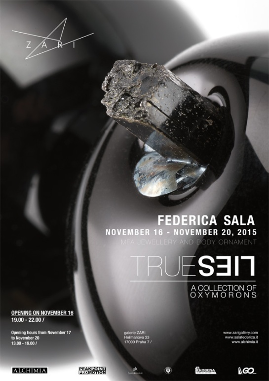 TRUE LIES. A COLLECTION OF OXYMORONS. A SOLO SHOW BY FEDERICA SALA